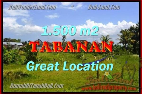 TANAH MURAH DI TABANAN BALI TJTB144 – INVESTASI PROPERTY DI BALI