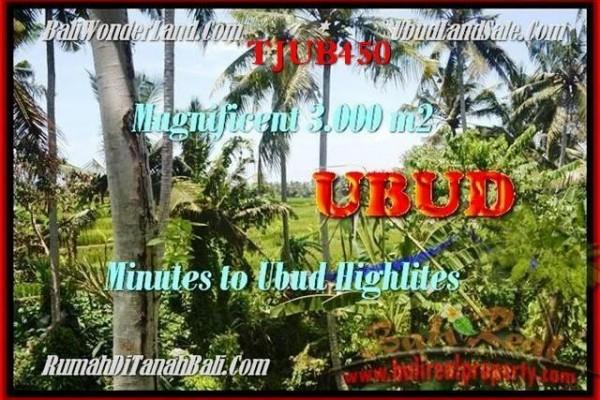 DIJUAL TANAH MURAH di UBUD BALI 30 Are di Sentral Ubud