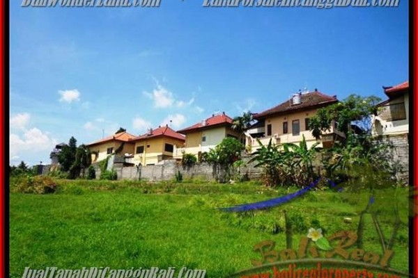 JUAL MURAH TANAH di CANGGU BALI 985 m2  view sungai di lingkungan villa