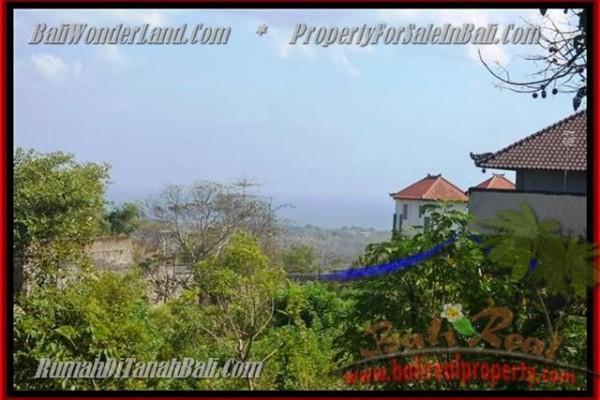 TANAH JUAL MURAH  JIMBARAN BALI 440 m2  View laut Lingkungan villa