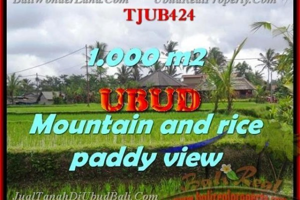 INVESTASI PROPERTI, JUAL MURAH TANAH di UBUD TJUB424