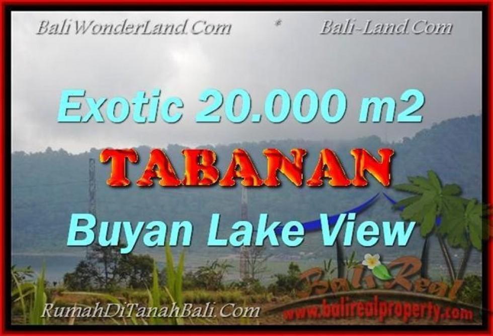 JUAL TANAH di TABANAN 200 Are View gunung dan danau buyan