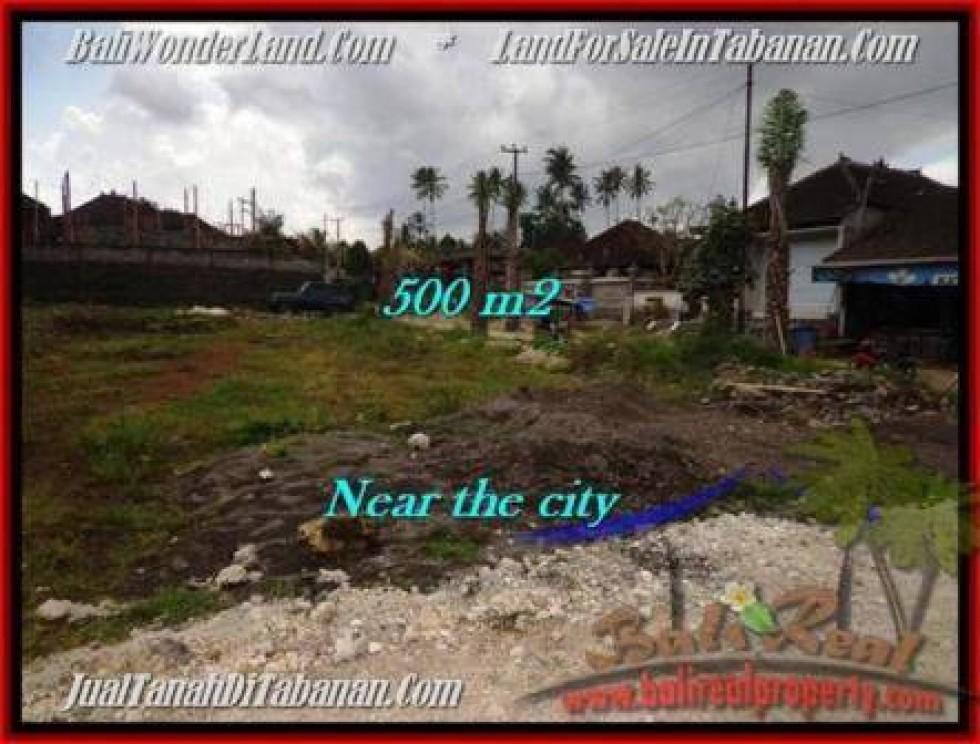 TANAH di TABANAN DIJUAL 500 m2 di Tabanan Kota