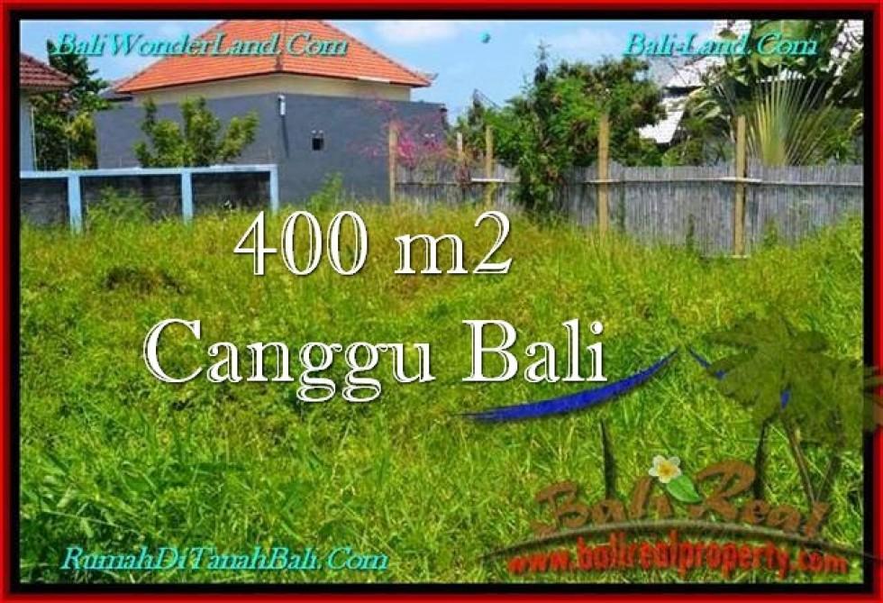 TANAH DIJUAL di CANGGU BALI 400 m2  Lingkungan villa