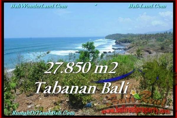 TANAH DIJUAL MURAH di TABANAN Untuk INVESTASI TJTB229