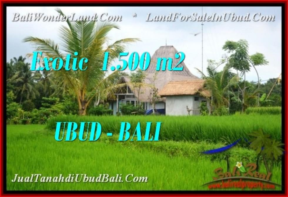 JUAL TANAH MURAH di UBUD BALI 15 Are View Sawah, link villa