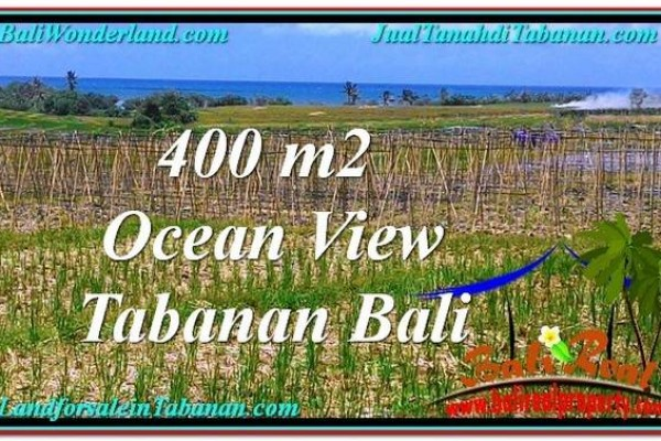 TANAH di TABANAN BALI DIJUAL MURAH 4.5 Are View Laut, Gunung dan sawah