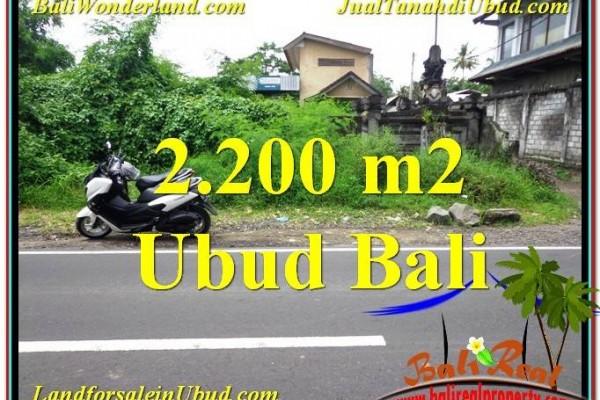 TANAH di UBUD DIJUAL MURAH 22 Are di Sentral Ubud