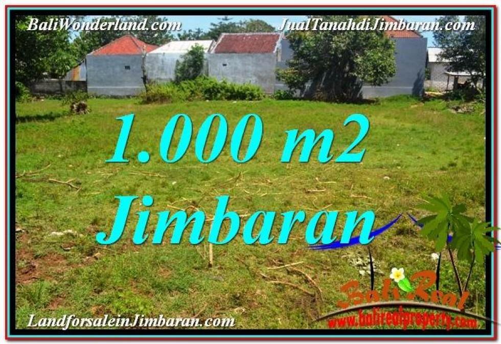 JUAL MURAH TANAH di JIMBARAN 10 Are Lingkungan Villa