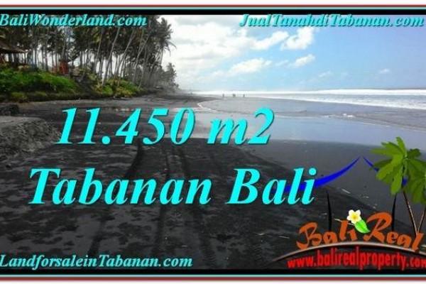 DIJUAL TANAH di TABANAN 114.5 Are di Tabanan Kerambitan
