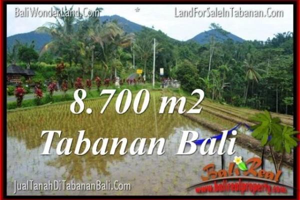 JUAL MURAH TANAH di TABANAN BALI 87 Are View gunung dan sawah