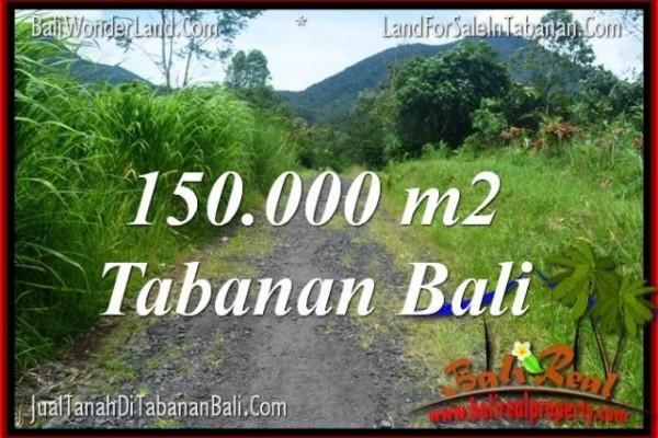 JUAL TANAH MURAH di TABANAN BALI 1500 Are View gunung dan sawah