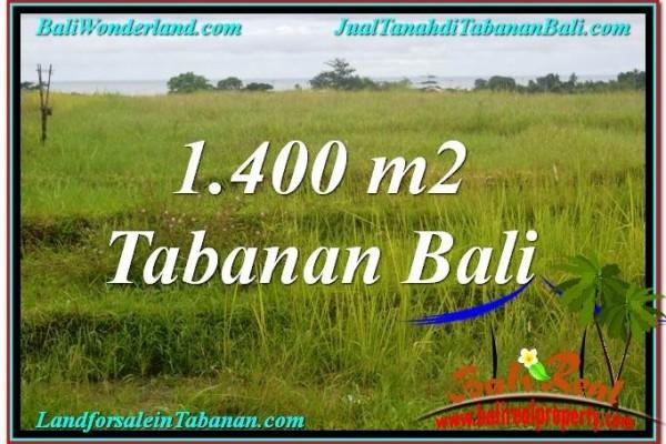 TANAH di TABANAN BALI DIJUAL MURAH 14 Are View Laut, Gunung dan sawah