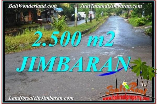 TANAH DIJUAL di JIMBARAN 2,500 m2 di Jimbaran Ungasan