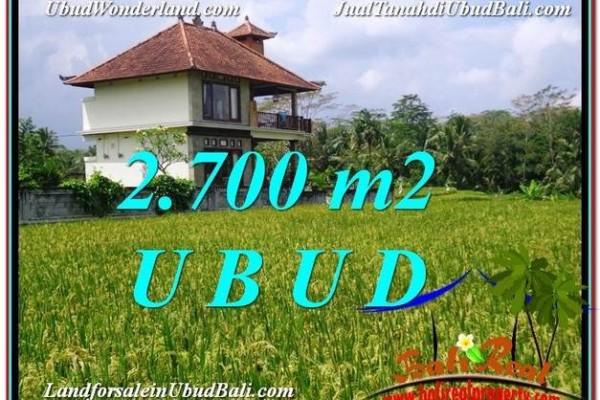 TANAH MURAH DIJUAL di UBUD BALI TJUB595