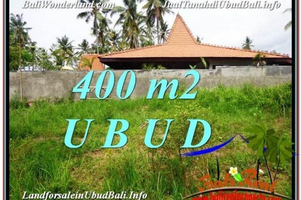 TANAH di UBUD DIJUAL MURAH Untuk INVESTASI TJUB585