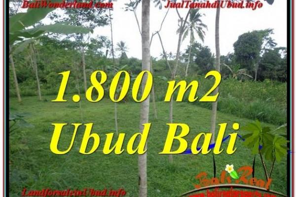 TANAH di UBUD BALI DIJUAL 1,800 m2 di Ubud Tegalalang
