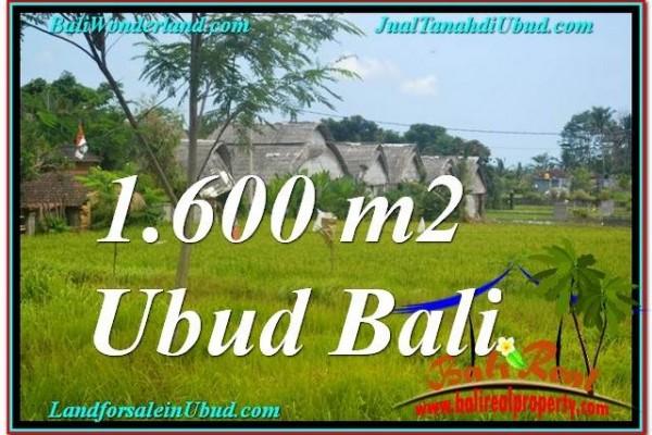 JUAL TANAH di UBUD 16 Are di Sentral / Ubud Center