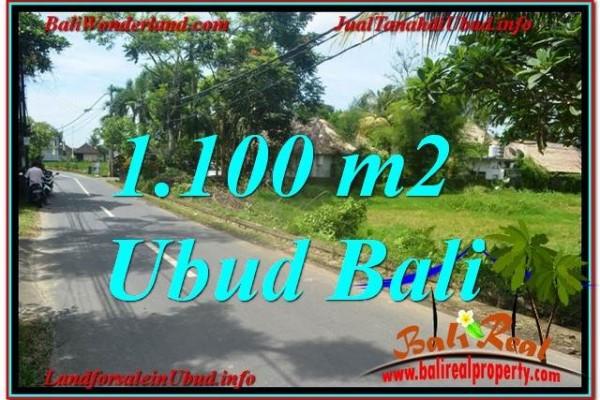 TANAH MURAH di UBUD BALI DIJUAL 11 Are View Sawah, Sungai Kecil, Link. Villa