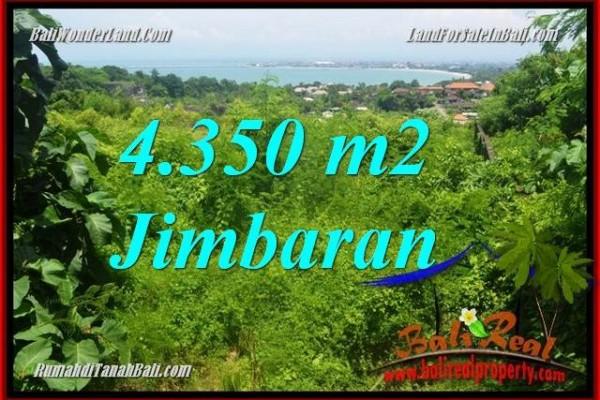 TANAH DIJUAL di JIMBARAN BALI 43.5 Are View Laut