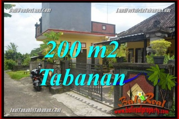 TANAH DIJUAL di TABANAN BALI Untuk INVESTASI TJTB359