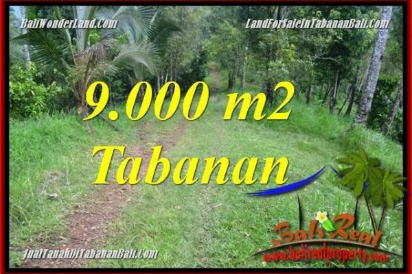 DIJUAL MURAH TANAH di TABANAN Untuk INVESTASI TJTB364