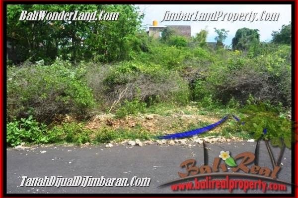 JUAL TANAH di JIMBARAN 225 m2  View laut toll Lingkungan villa