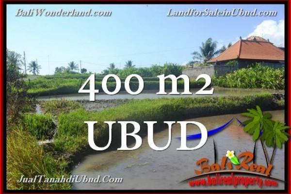 JUAL TANAH MURAH di UBUD Untuk INVESTASI TJUB659
