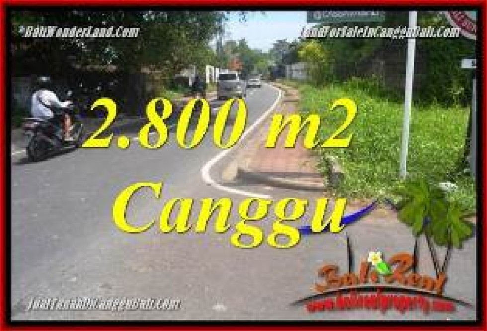 JUAL TANAH MURAH di CANGGU BALI Untuk INVESTASI TJCG223