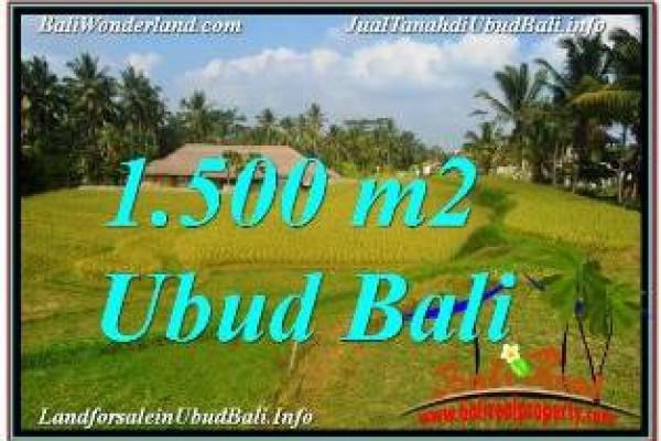 INVESTASI PROPERTY, JUAL TANAH di UBUD BALI TJUB668