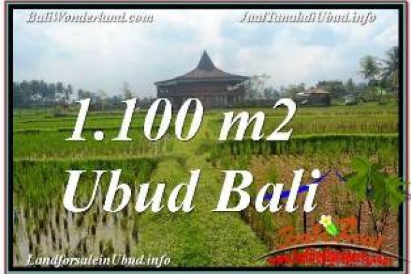 INVESTASI PROPERTY, TANAH MURAH di UBUD BALI DIJUAL TJUB670