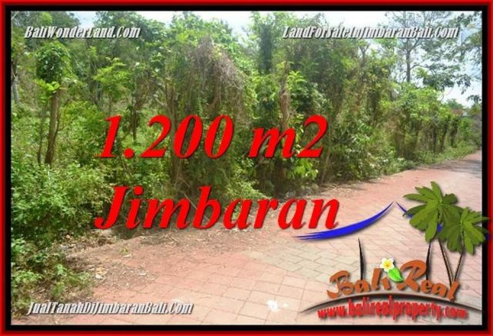 TANAH DI JUAL MURAH DI JIMBARAN BALI  1,200 m2  LINGKUNGAN VILLA