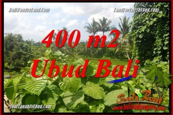 Tanah Murah di Ubud Bali jual 4 Are View sungai dan sawah