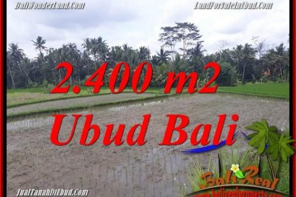 Investasi Properti, Tanah Dijual di Ubud Bali TJUB697