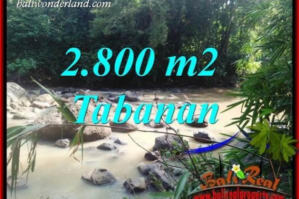JUAL Tanah di Tabanan Bali 2,800 m2 di Tabanan Selemadeg