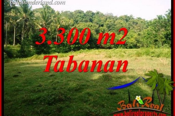 Dijual Murah Tanah di Tabanan Bali Untuk Investasi TJTB413