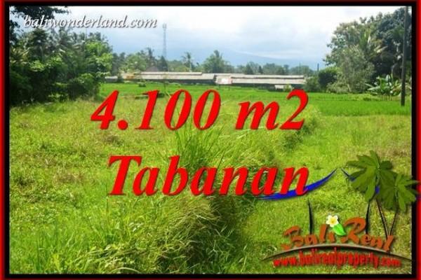 Dijual Murah Tanah di Tabanan Bali 4,100 m2 di Tabanan Penebel