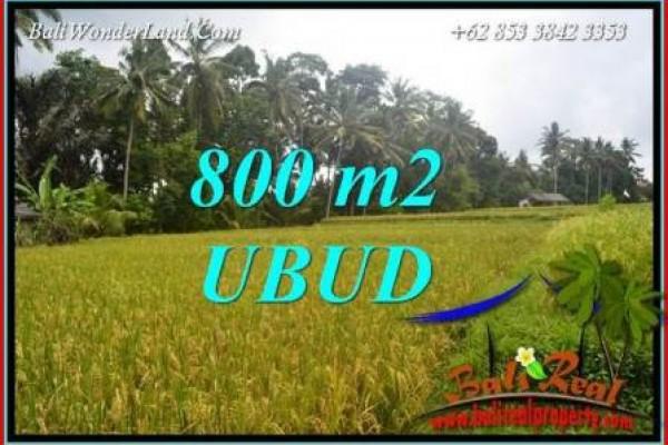 Investasi Properti, Dijual Murah Tanah di Ubud Bali TJUB707