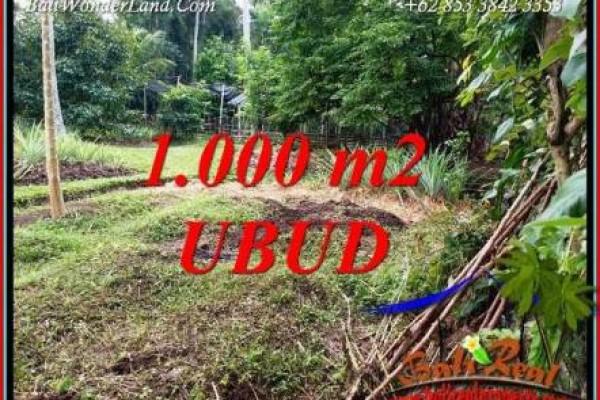 Tanah Murah di Ubud Bali Dijual TJUB712