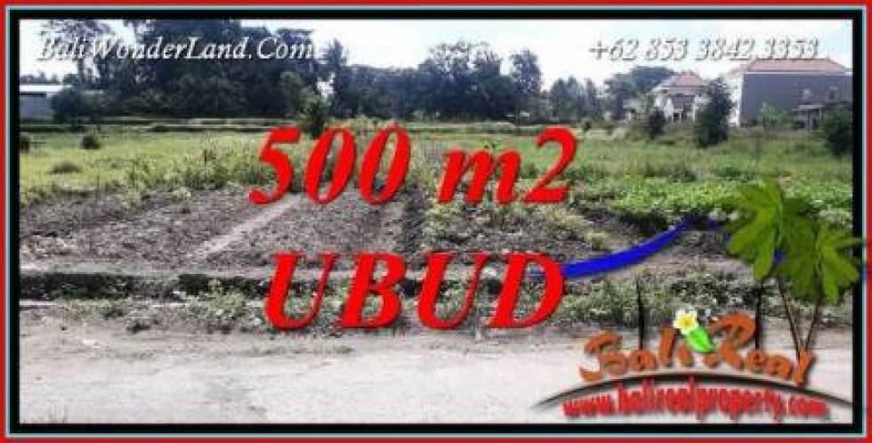 Tanah Murah di Ubud Bali Dijual Untuk Investasi TJUB720