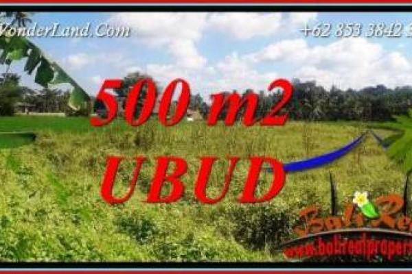 Dijual Murah Tanah di Ubud Bali TJUB724