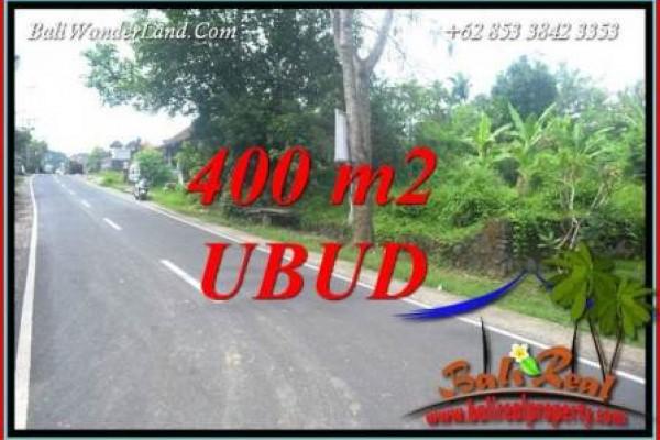 JUAL Tanah Murah di Ubud Bali 400 m2  View Lingkungan Villa