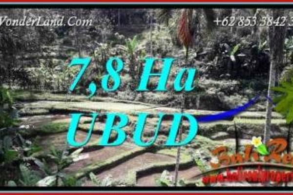 Dijual Murah Tanah di Ubud Bali TJUB741