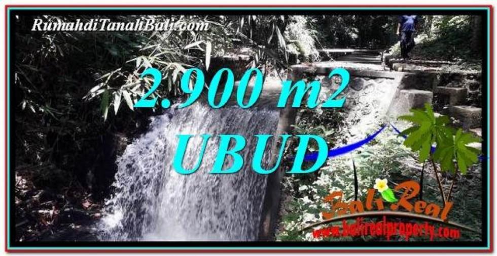 JUAL TANAH di UBUD BALI 29 Are View Hutan dan Sungai
