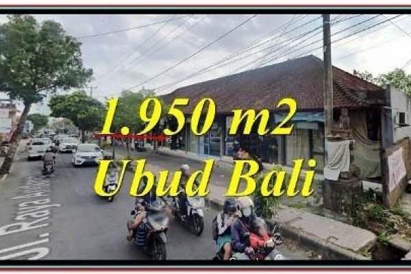INVESTASI PROPERTI TANAH DIJUAL di UBUD BALI TJUB779
