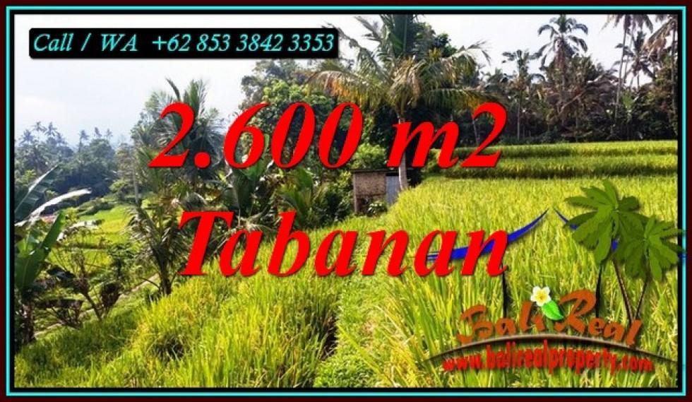 DIJUAL TANAH DI TABANAN Untuk INVESTASI TJTB499B