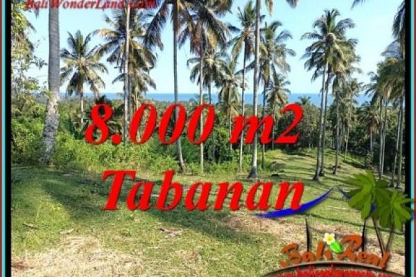 JUAL TANAH DI TABANAN BALI 80 Are VIEW LAUT DAN KEBUN