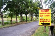 Jual tanah kavling murah di Abiansemal Badung – T1022