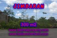 Tanah di Jimbaran Bali dijual 300 m2 di Jimbaran Ungasan