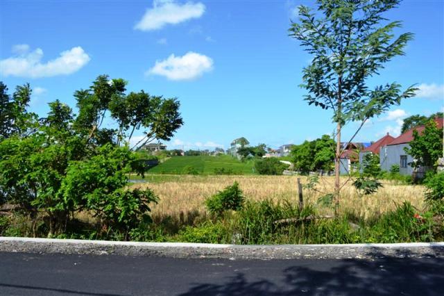 Tanah dijual di Canggu lokasi dipinggir jalan dekat pantai – TJCG048B